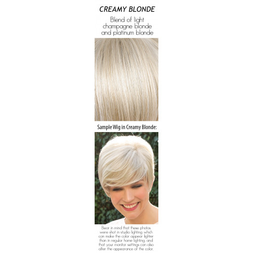 Select a color: Creamy Blonde