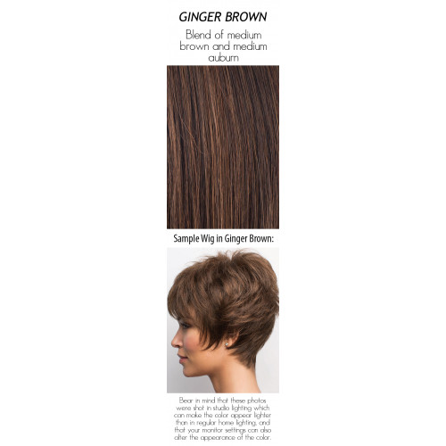 Select a color: Ginger Brown