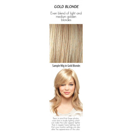 Select a color: Gold Blonde