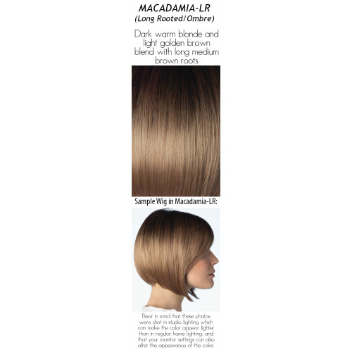 Select a color: Macadamia-LR (Long Rooted/Ombre)