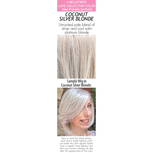 Color choices: Coconut Silver Blonde