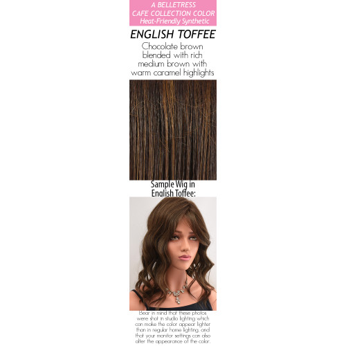 Color choices: English Toffee