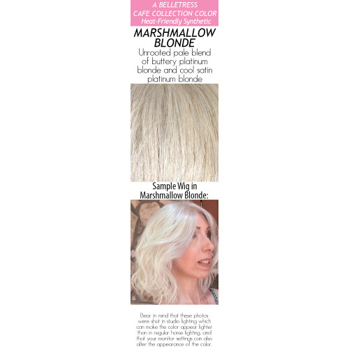 Color choices: Marshmallow Blonde