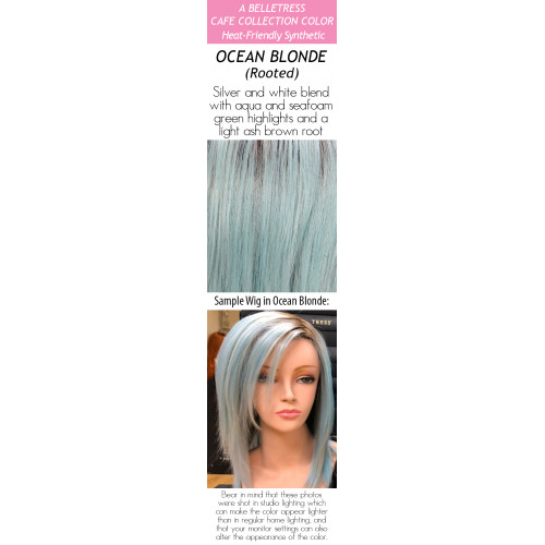 Color choices: Ocean Blonde (Rooted)