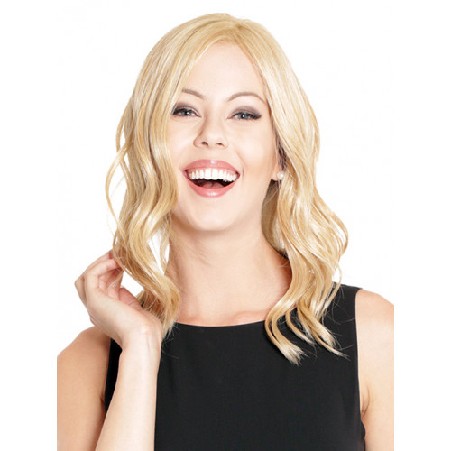 "Lace Front Mono Top Wave Topper by BelleTress, 14"" or 18"""