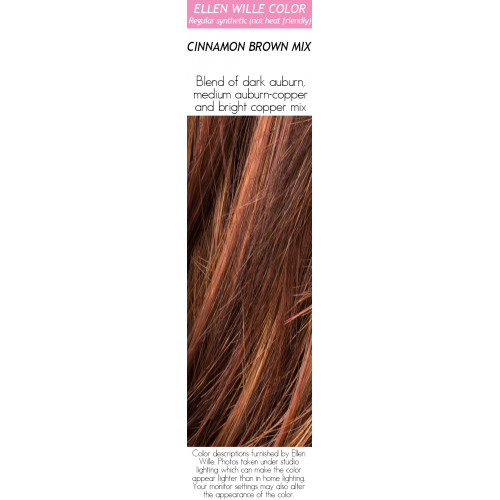 Color Choices: Cinnamon Brown Mix