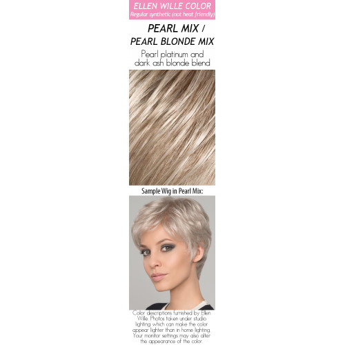 Color Choices: Pearl Mix / Pearl Blonde Mix