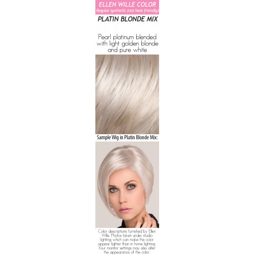 Color Choices: Platin Blonde Mix