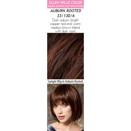 Color Choices: Auburn Rooted