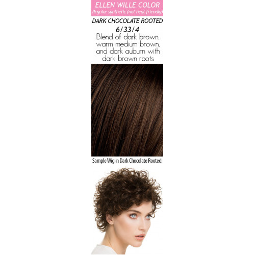 Color Choices: Dark Chocolate Rooted