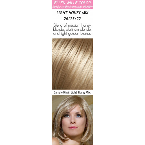 Color Choices: Light Honey Mix