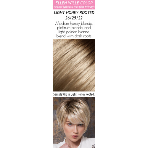 Color Choices: Light Honey Rooted