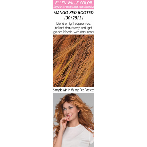 Color Choices: Mango Red Rooted