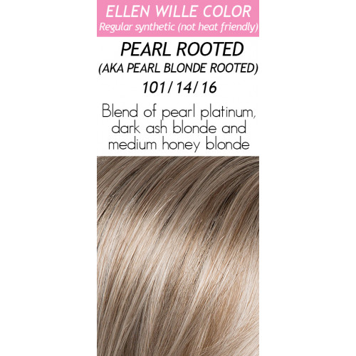 Color Choices: Pearl Blonde Rooted
