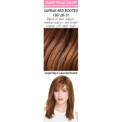Color Choices: Safran Red Rooted