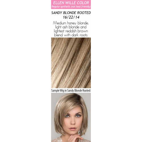 Color Choices: Sandy Blonde Rooted