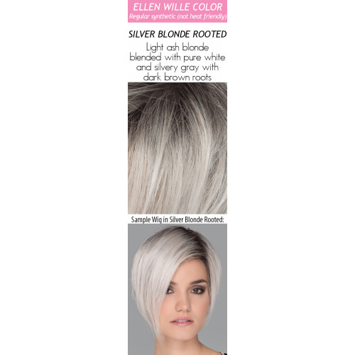 Color Choices: Silver Blonde Rooted