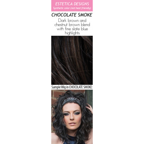 Color choices: CHOCOLATE SMOKE (New Color!)
