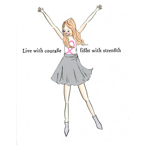 Choose Your Gift Card: Live with Courage - by Heather Stillufsen