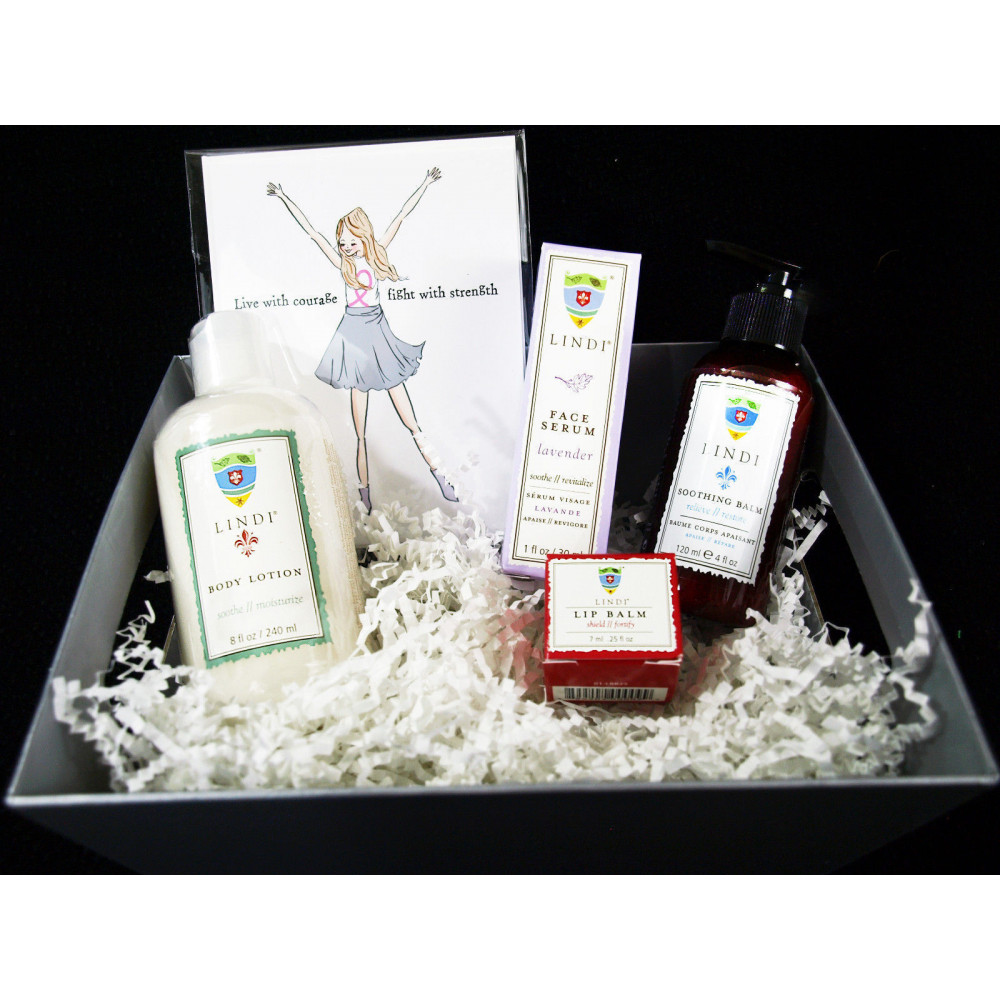 Lindi Skin Gift Basket for Chemo (Medium)