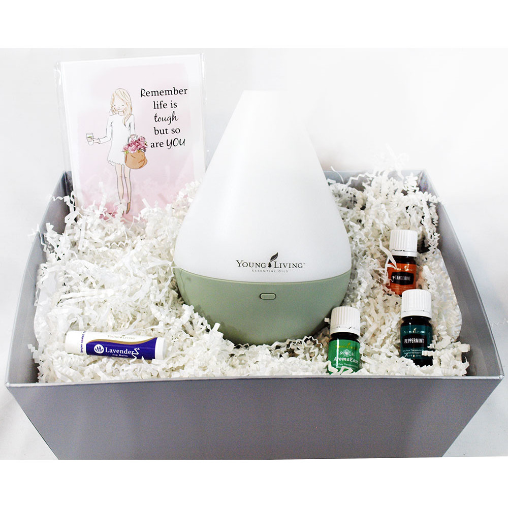 Essential Oil Gift Basket by Young Living (Medium)