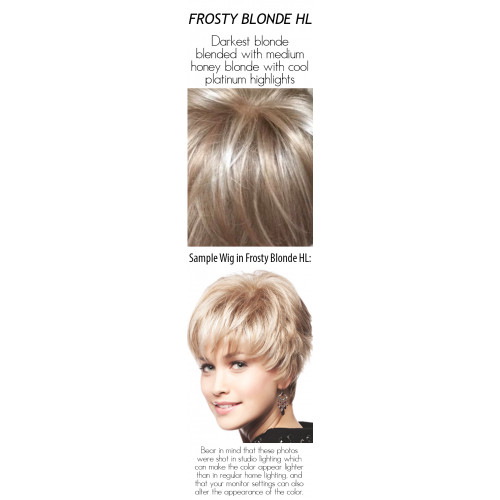 Please select a color: Frosty Blonde HL
