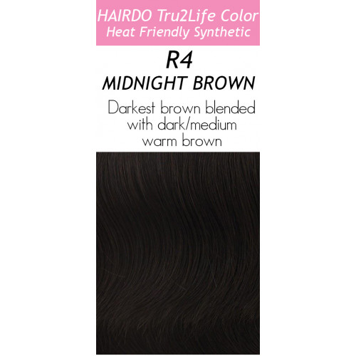 Shade: R4  MIDNIGHT BROWN