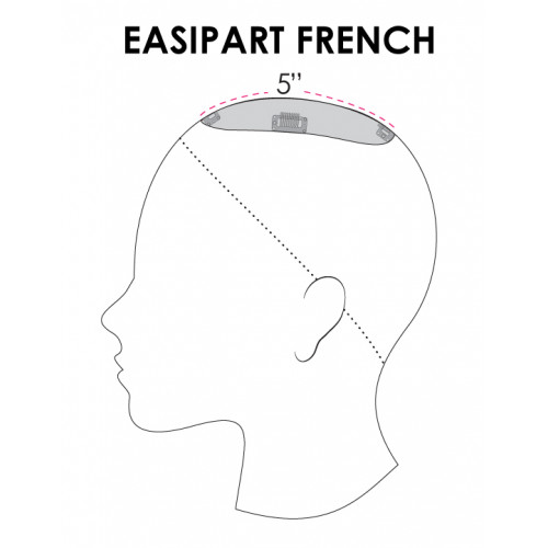 "easiPart French 8"" by Jon Renau"