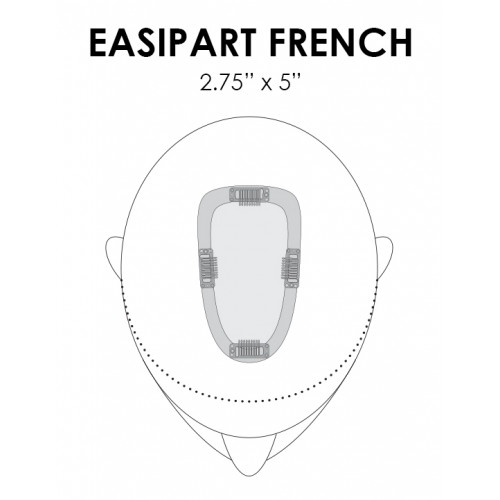 "easiPart French 12"" by Jon Renau"
