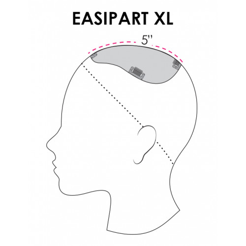 "easiPart HD XL 18"" by Jon Renau"