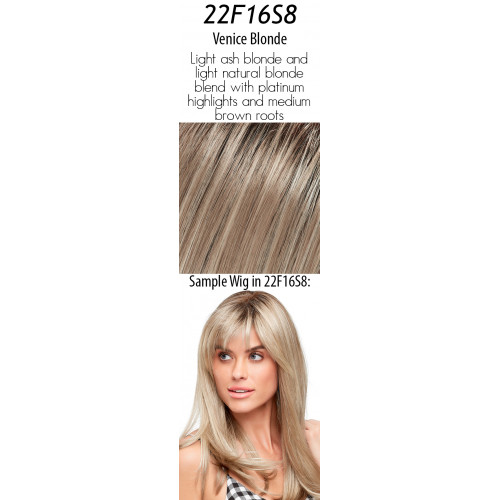 Select your color: 22F16S8  Venice Blonde (Rooted)