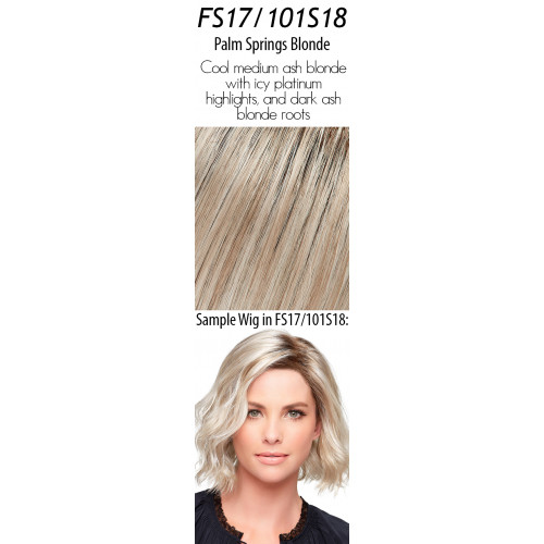 Select your color: FS17/101S18  Palm Springs Blonde (Rooted)