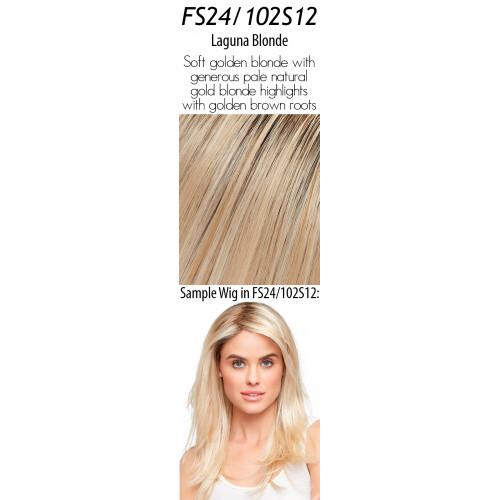 Select your color: FS24/102S12  Laguna Blonde (Rooted)