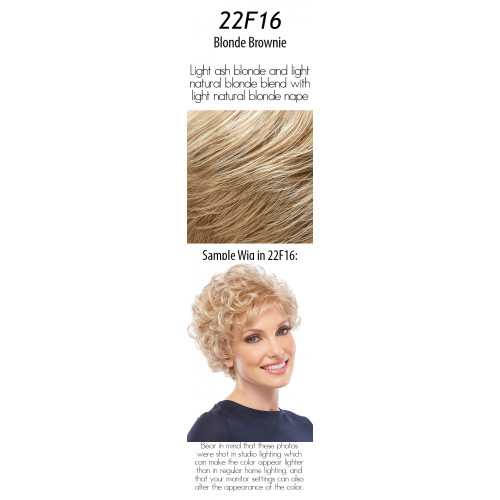 Select your color: 22F16  Blonde Brownie