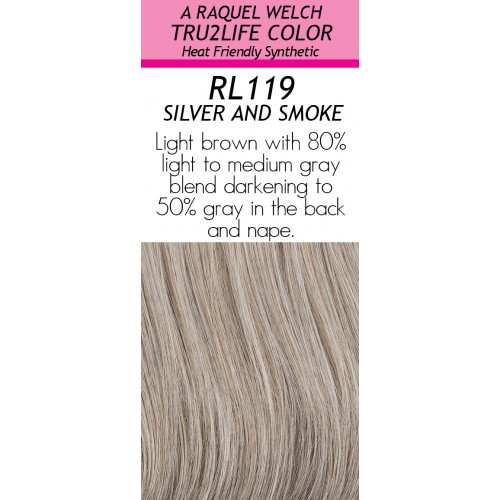 Shade: RL119  SILVER & SMOKE