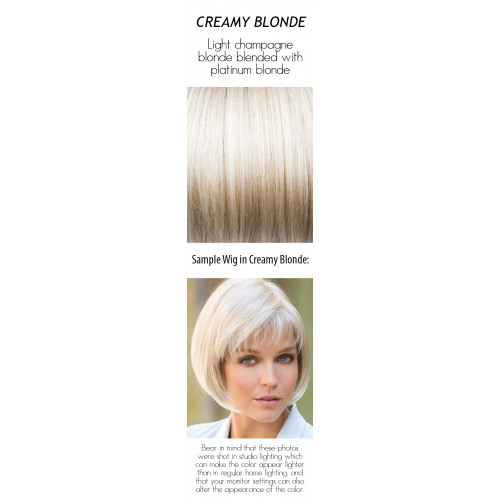 Shades: Creamy Blonde
