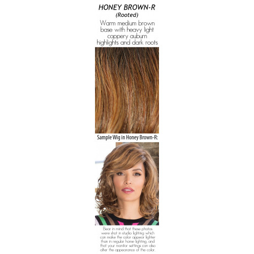 Shades: Honey Brown-R (Rooted)