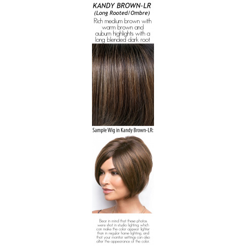 Shades: Kandy Brown-LR (Long Rooted/Ombre)
