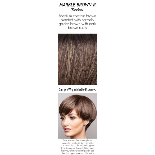 Shades: Marble Brown-R (Rooted)