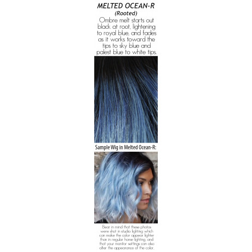 Shades: Melted Ocean (Long Rooted/Ombre)