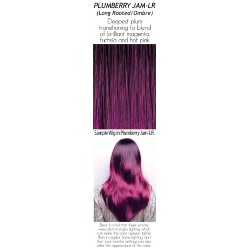 Shades: Plumberry Jam-LR (Long Rooted/Ombre)
