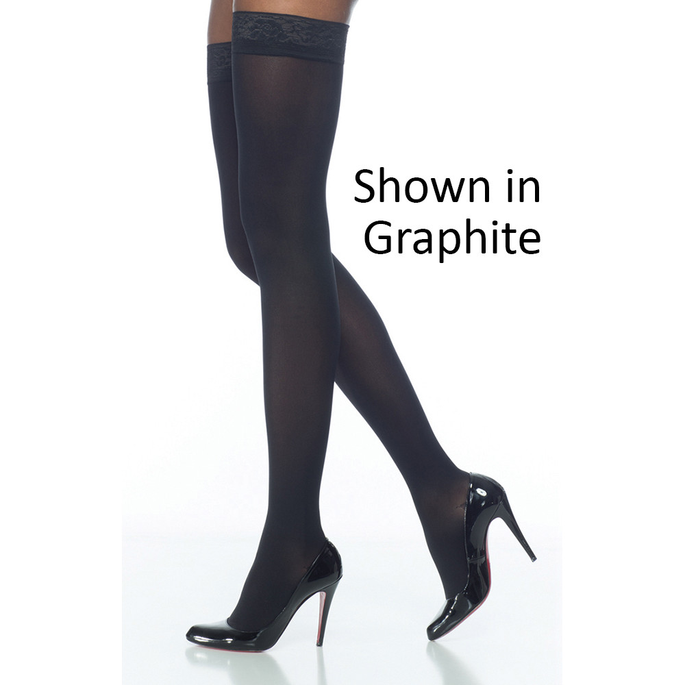 Soft Opaque Thigh High Stockings a07142c89
