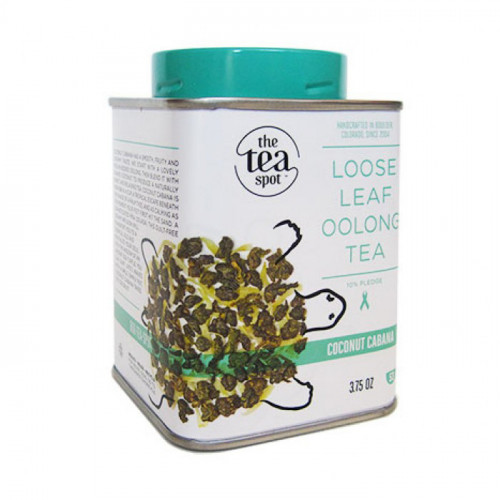 Choose Your Tea TIn: Coconut Cabana Choose Your 2nd Tea Tin: Coconut Cabana
