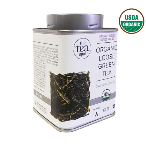 Choose Your Tea TIn: Organic Sencha Choose Your 2nd Tea Tin: Organic Sencha