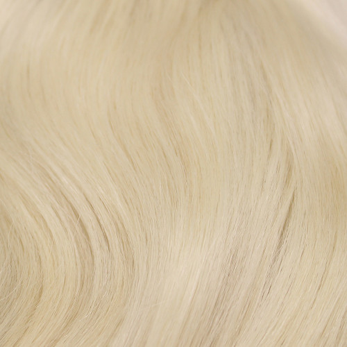 Remy Human Hair Color: Platinum