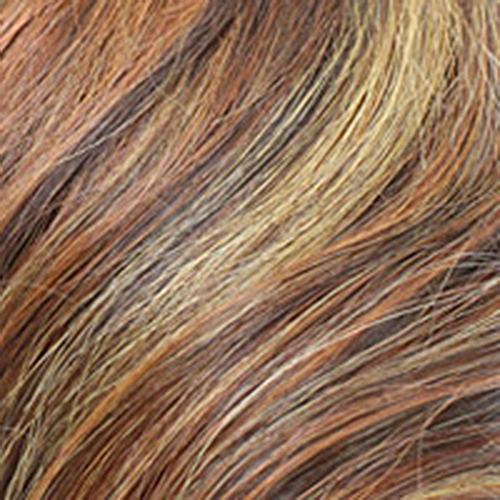 Remy Human Hair Color: Wild Fire
